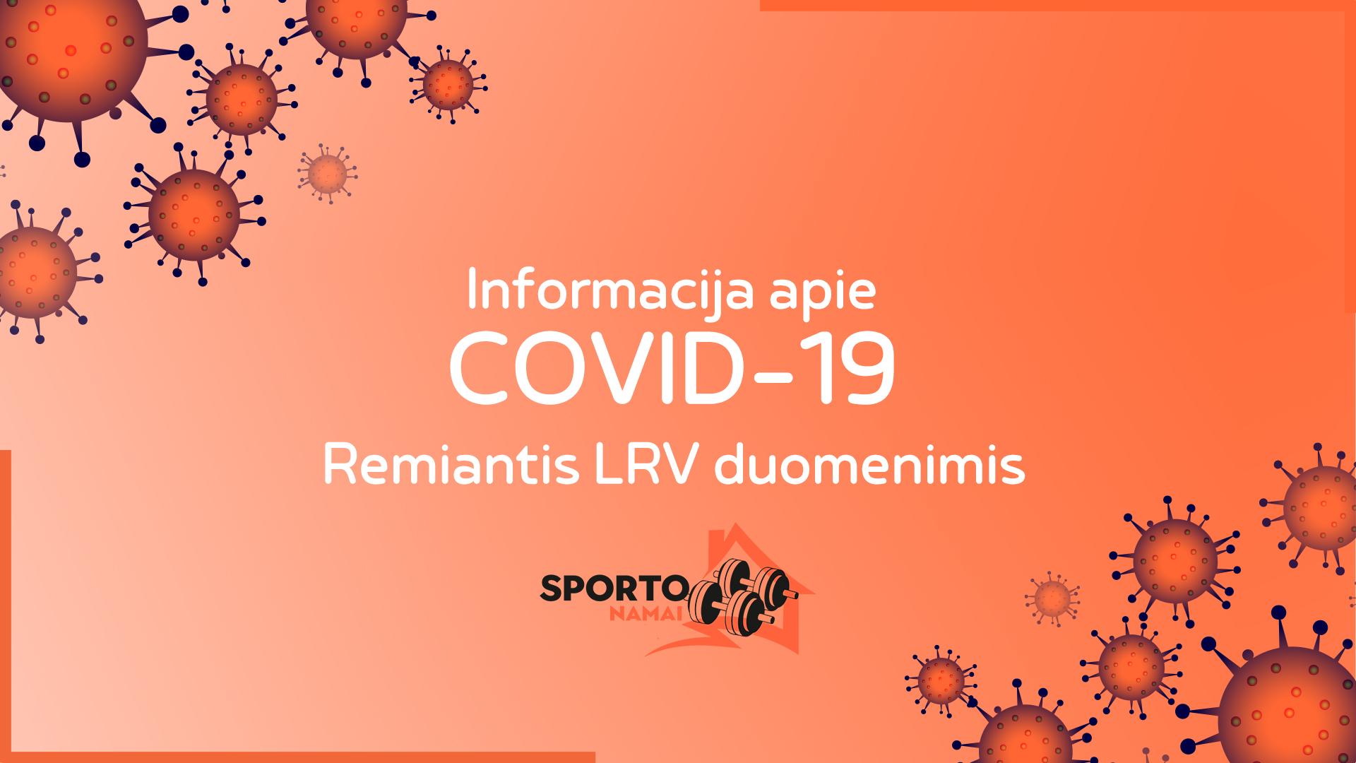 nformacija apie COVID-19