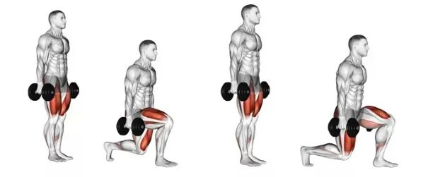 Basic Lunges | Sporto Namai